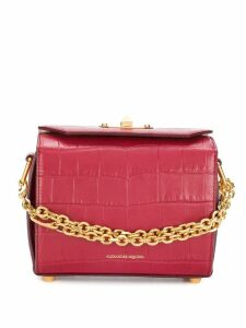Alexander McQueen Box Bag 19 - Red