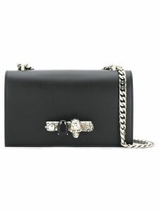 Alexander McQueen skull knuckle duster bag - Black