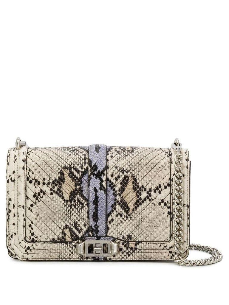 Rebecca Minkoff Love crossbody bag - Grey