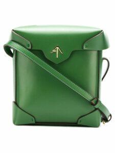 Manu Atelier mini Pristine crossbody bag - Green
