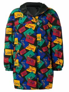Yves Saint Laurent Pre-Owned Love reversible coat - Black