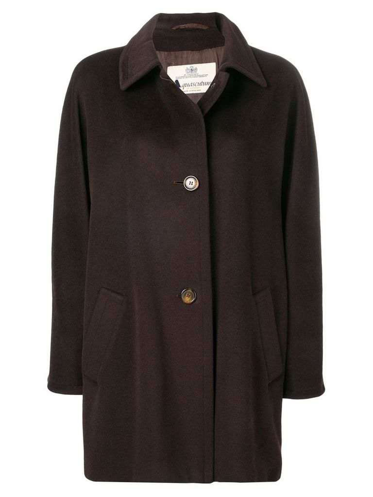 A.N.G.E.L.O. Vintage Cult single breasted coat - Brown