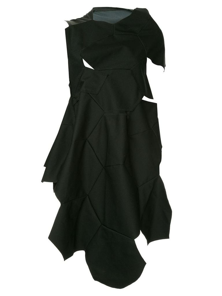 Comme Des Garçons Vintage geometric cut out dress - Black