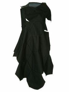 Comme Des Garçons Pre-Owned geometric cut out dress - Black