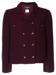 Chanel Pre-Owned bouclé jacket - Purple