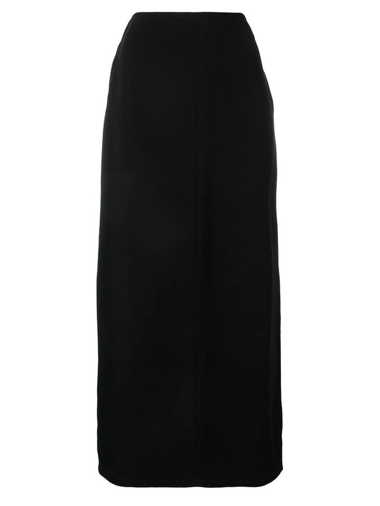 Maison Martin Margiela Vintage 1990's long A-line skirt - Black