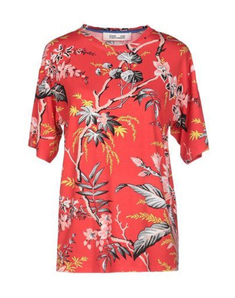 DIANE VON FURSTENBERG TOPWEAR T-shirts Women on YOOX.COM