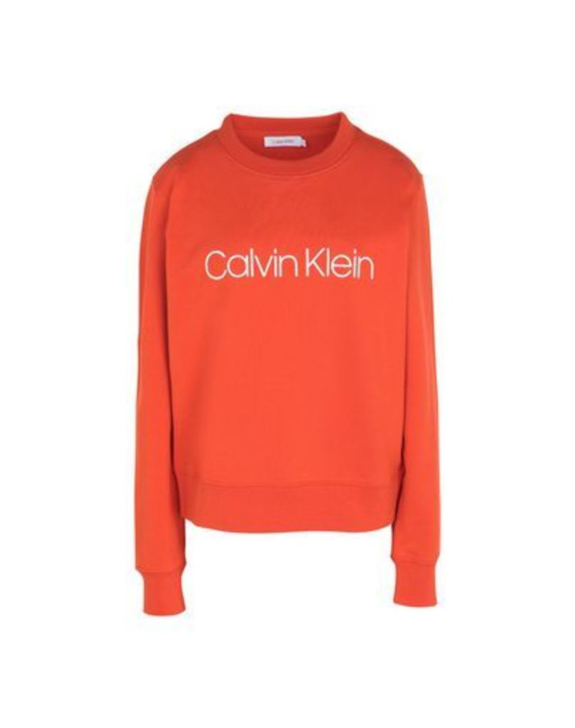 CALVIN KLEIN TOPWEAR Sweatshirts Women on YOOX.COM