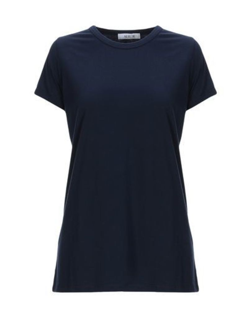 ALLUDE TOPWEAR T-shirts Women on YOOX.COM