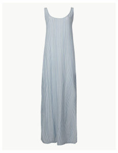M&S Collection Striped Maxi Dress