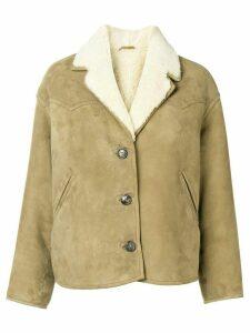 Isabel Marant Étoile Fabio shearling coat - Neutrals