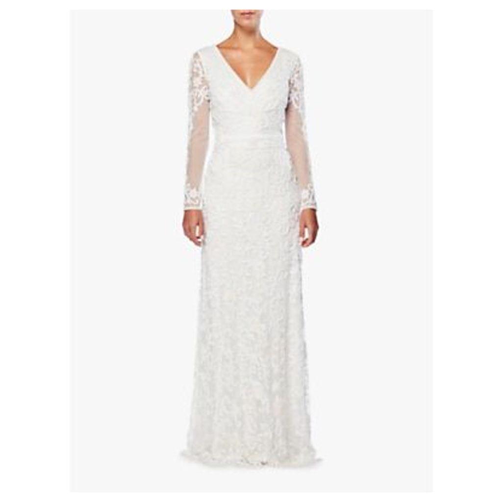 Raishma Embellished Bridal Gown, White