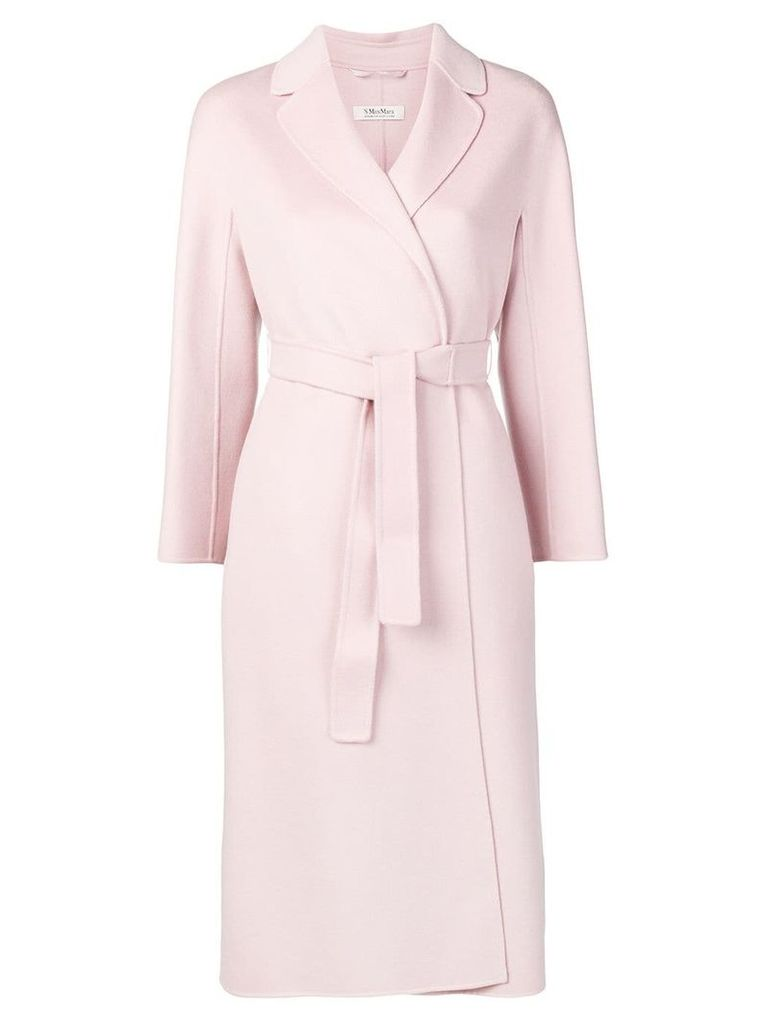 'S Max Mara belted coat - Pink