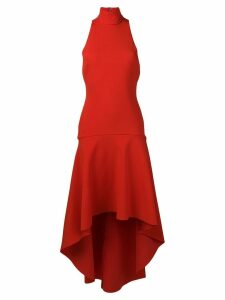 Solace London Bahar asymmetric dress - Red