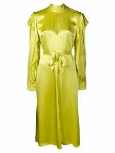 Golden Goose mock neck dress - Yellow