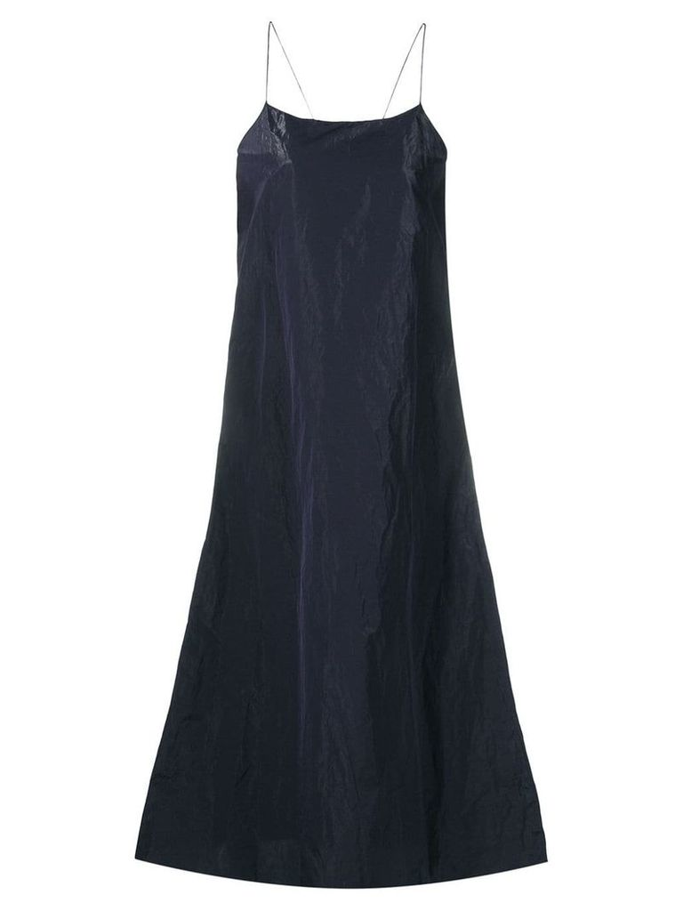 Theory long oversized dress - Blue