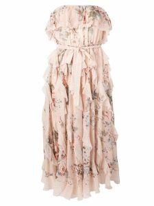 Zimmermann floral print midi dress - Pink