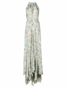 Johanna Ortiz long floral dress - Green
