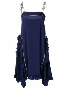 See By Chloé frill trim cami dress - Blue