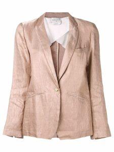 Forte Forte creased blazer - Pink