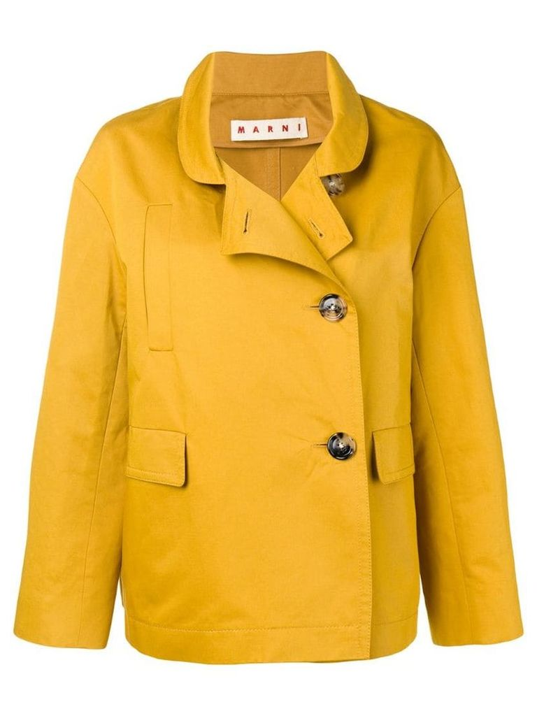 Marni double breasted jacket - Yellow