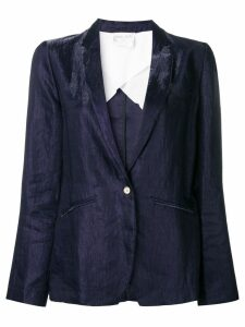 Forte Forte creased blazer - Blue