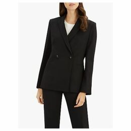 Jaeger Double Breasted Blazer, Black