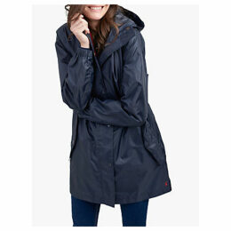 Joules Golightly Pack-Away Waterproof Parka Coat
