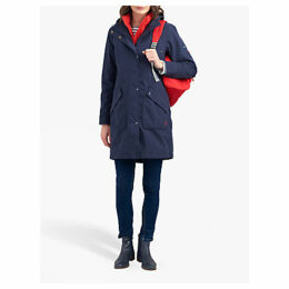 Joules Raine Waterproof Parka, Marine Navy