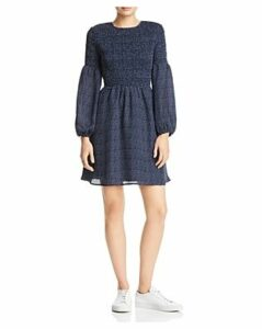 Aqua Smocked Polka Dot Dress - 100% Exclusive