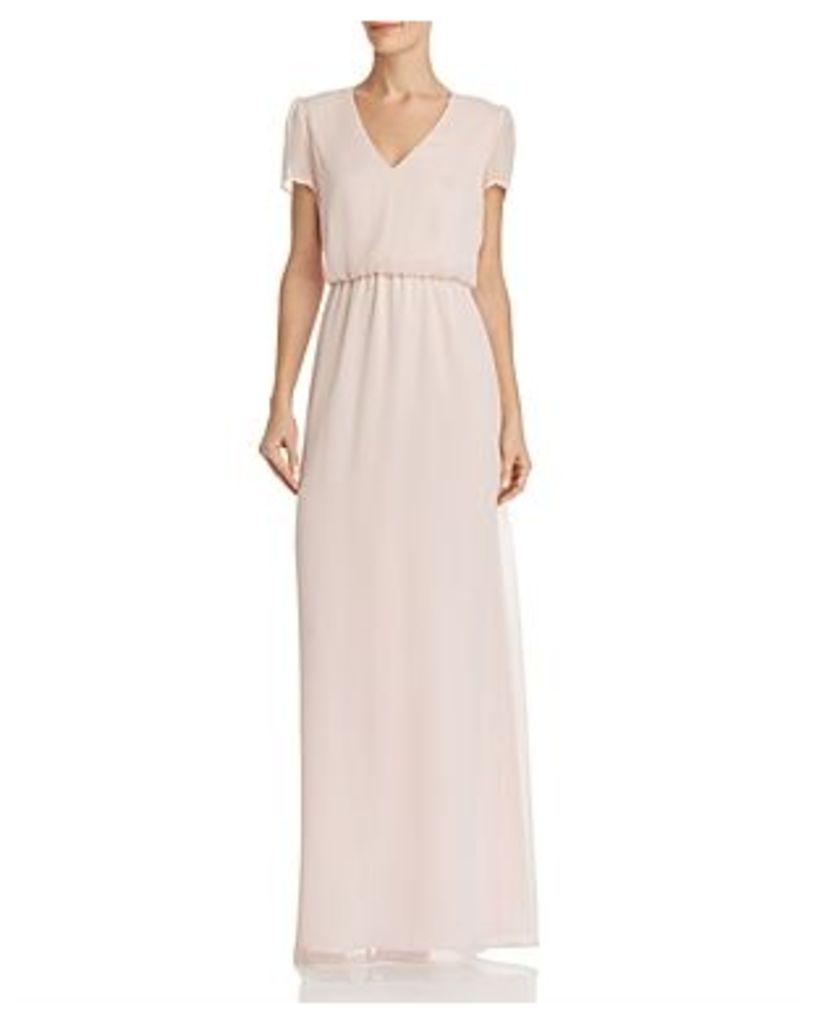 Wayf Anna Blouson Maxi Dress