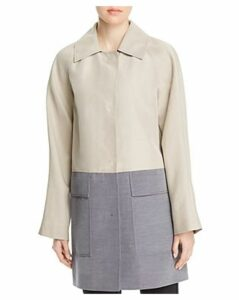Lafayette 148 New York Maryann Color-Block Coat