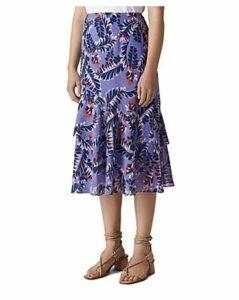 Whistles Josephine Printed Skirt