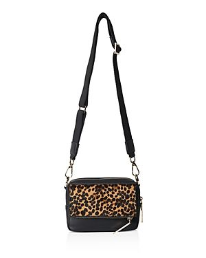Whistles Bibi Mini Leopard Shoulder Bag