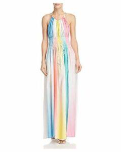 A Mere Co. Neva Rainbow Ombre Maxi Dress