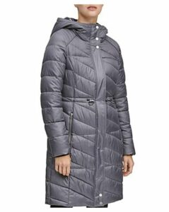 Marc New York Brookdale Velvet Trim Puffer Coat