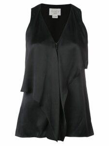 Jason Wu ruffled layer top - Black