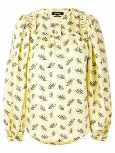 Isabel Marant printed blouse - Yellow