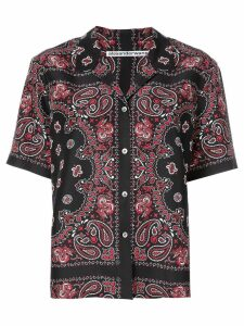 Alexander Wang bandana print shirt - Black