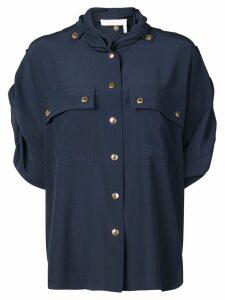 Chloé crepe de chine shirt - Blue