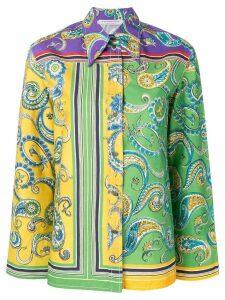 Philosophy Di Lorenzo Serafini paisley cotton shirt - Green