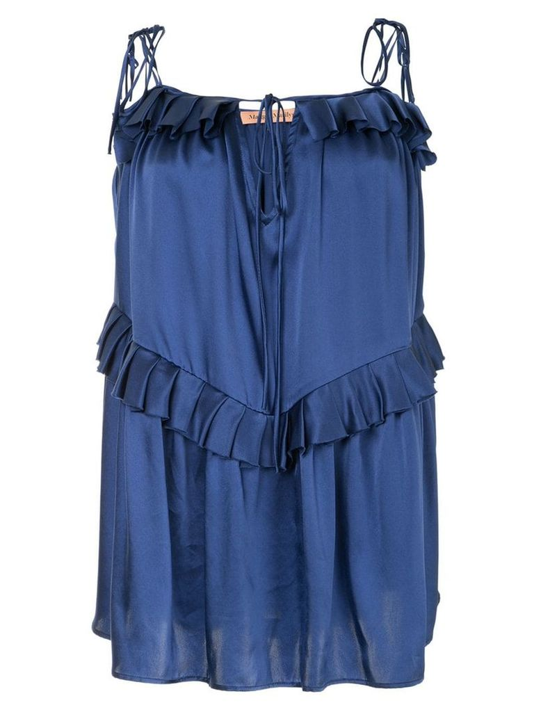 Maggie Marilyn Heart Of Gold top - Blue