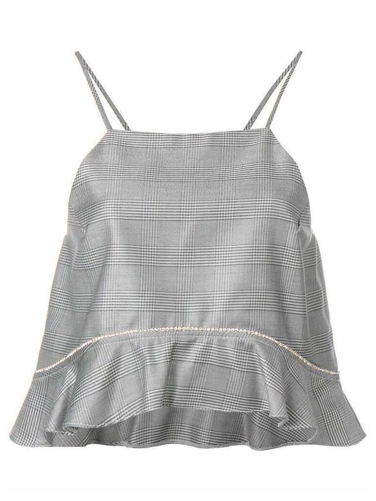 Ganni suiting top - Grey