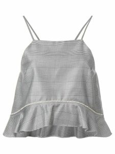 Ganni suiting top - Grey