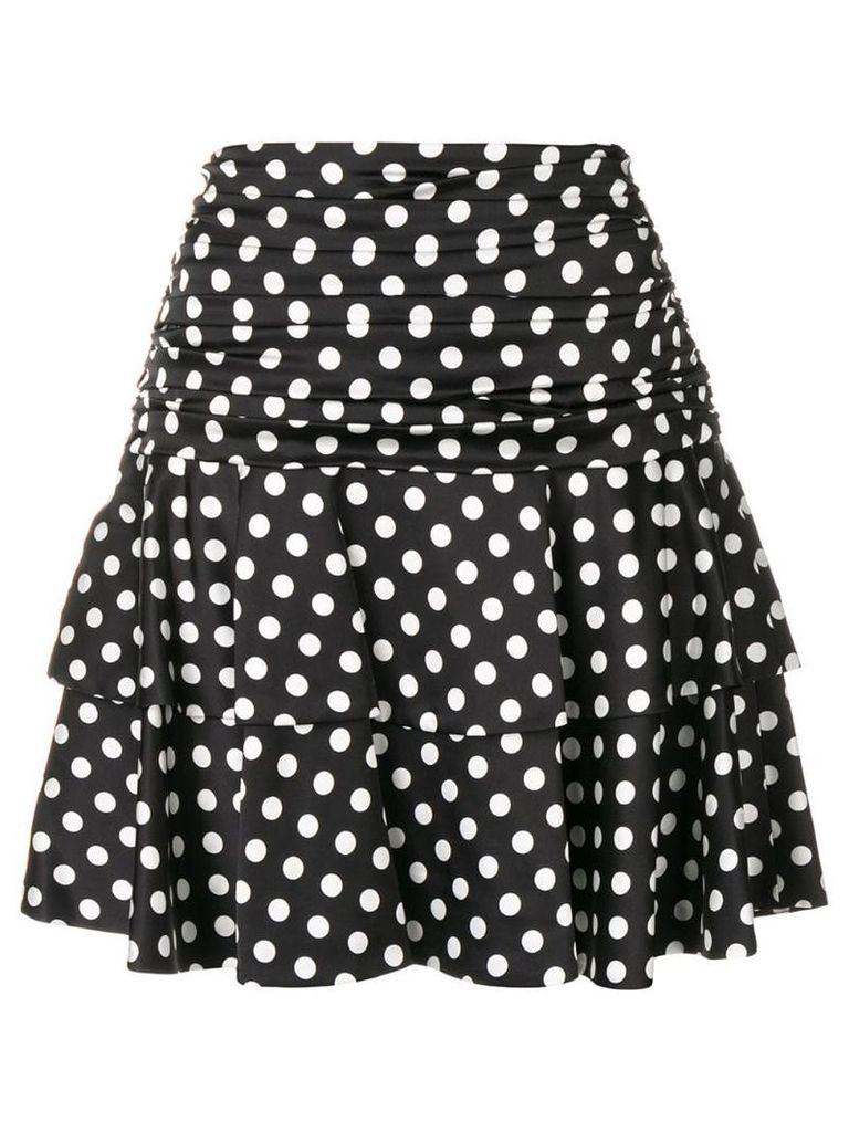Moschino polka dot print skirt - Black