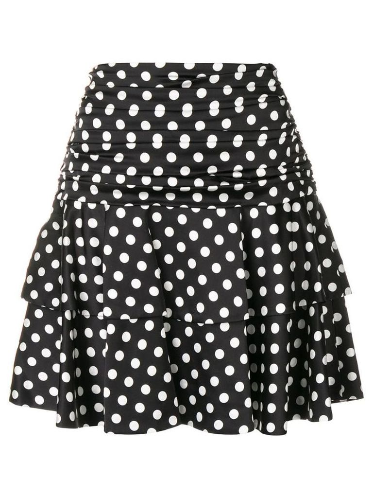 Moschino polka dot print skirt - Black