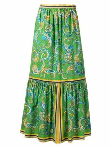 Philosophy Di Lorenzo Serafini long paisley skirt - Green