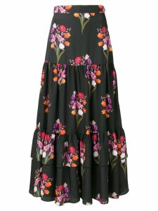 Borgo De Nor Emme floral print skirt - Black