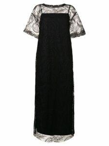 Y's lace evening dress - Black