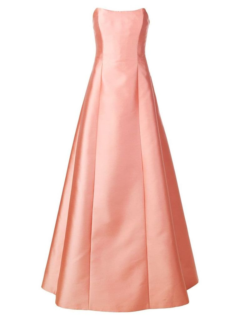 Alberta Ferretti bustier gown - Pink